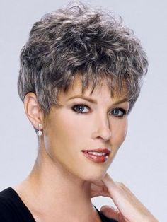 cabelos grisalhos, brancos ou cinza curtos encaracolados - Pesquisa Google