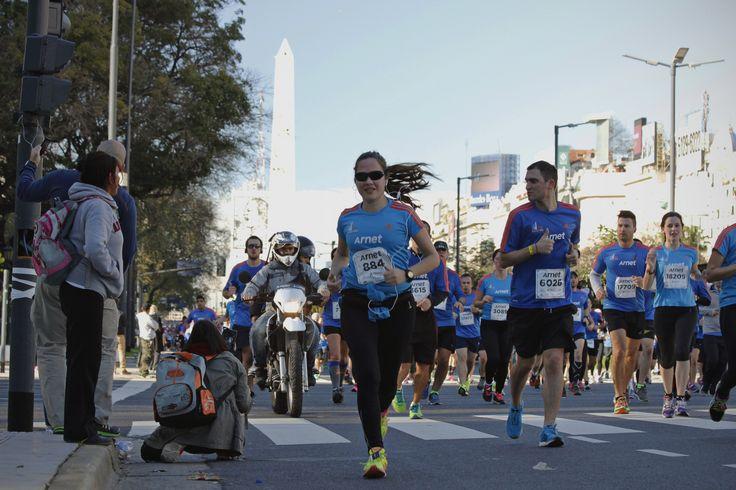 Media Maraton Buenos Aires pasando por el  Obelisco on 500px