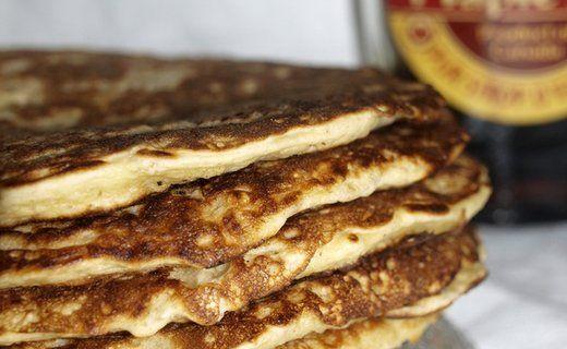 Recette de Pancakes aux flocons d'avoine - i-Cook'in