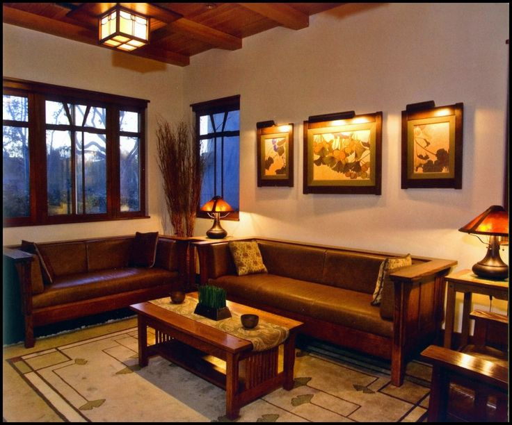 Arts And Crafts Style Living Room: 868 Best Images About Living Room / Dining Room Combined