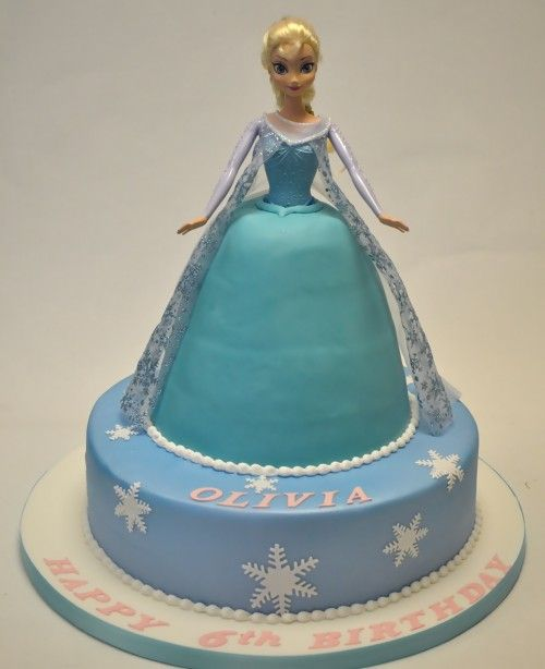 Elsa Doll Cake Design : 25+ best ideas about Frozen doll cake on Pinterest Elsa ...