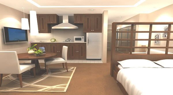 Menyiasati Ruang Di Apartemen Bertipe Studio Apartemen Ruangan Ide Dekorasi Rumah