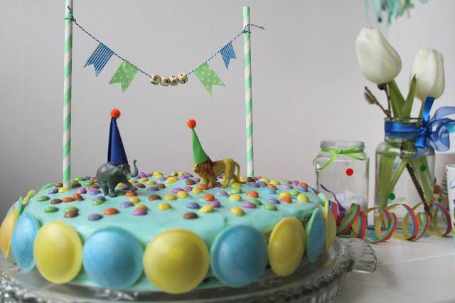 Zirkus Party Torte Circus Cake Birthday                                                                                                                                                     Mehr