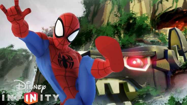 Disney Infinity 3.0 Gameplay ITA - Spiderman nella Terra di Black Phante...