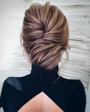 Wedding hairstyles elegant updo french twists 43 Trendy Ideas