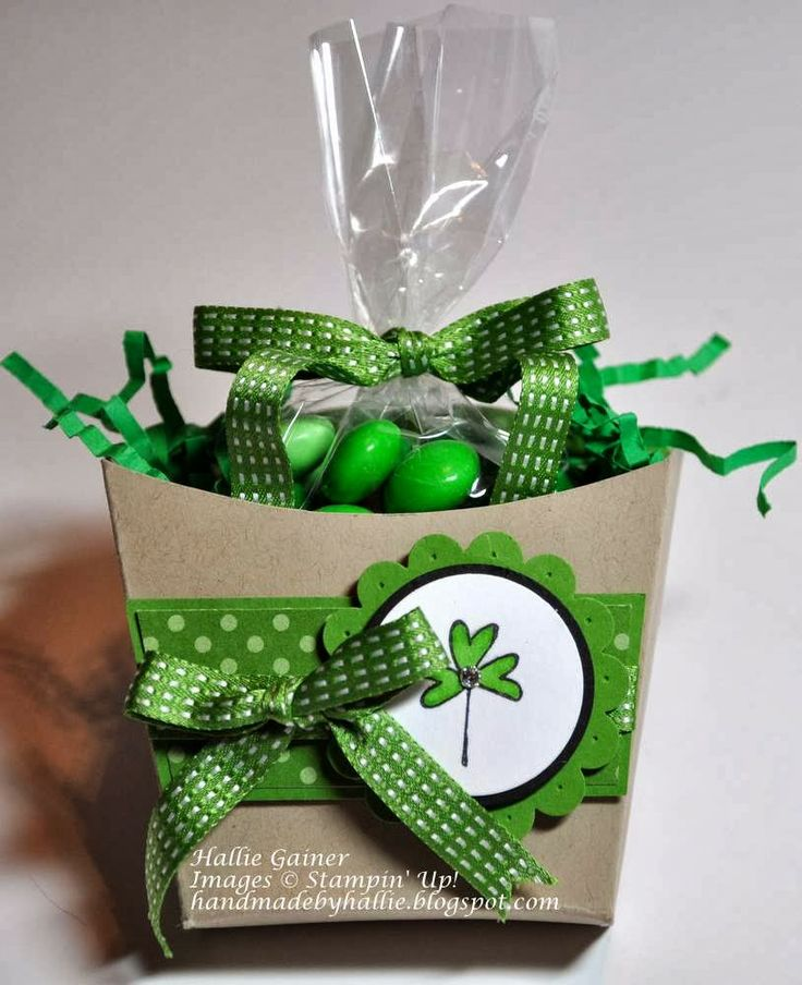 Stampin' Up! - Fry Box - http://handmadebyhallie.blogspot.com/2014/03/7-days-to-st-pattys-day-3-fry-box.html