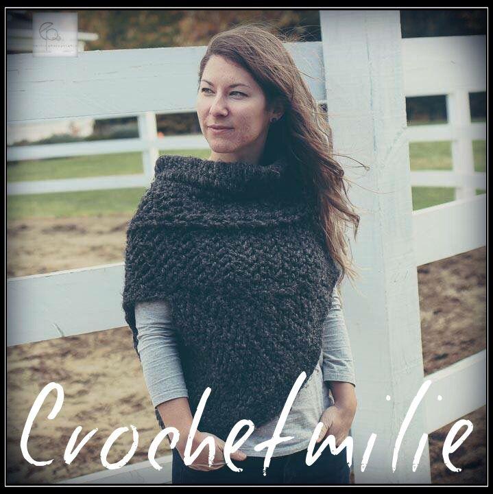 Warm asymmetric cowl www.etsy.com/shop/crochetmilie