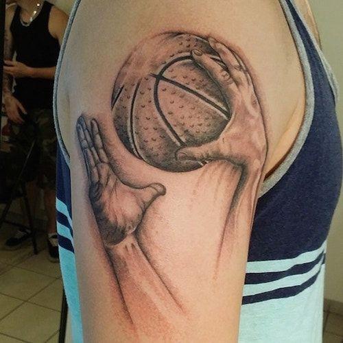 Best 25 basketball tattoos ideas on pinterest for Association of professional tattoo artists