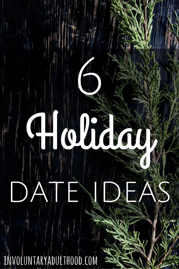 The holiday season is a magical time, which means holiday dates can be extra special. So grab your significant other (or just a friend!) and pick one of these holiday date ideas!