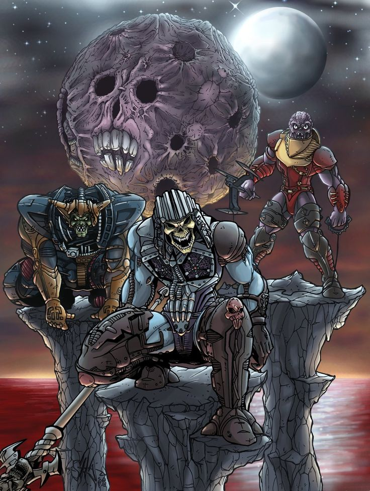 New Adventures of He-Man - Hoove, Skeletor & Flogg