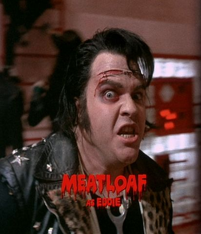 Meatloaf as Eddie-Rocky Horror Picture Show