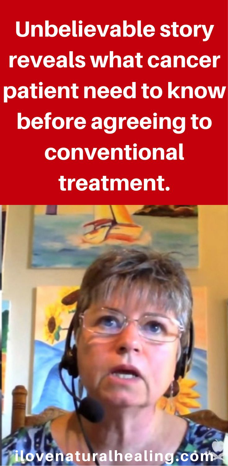 Unbelievable story reveals what cancer patient need to know before agreeing to conventional treatment.