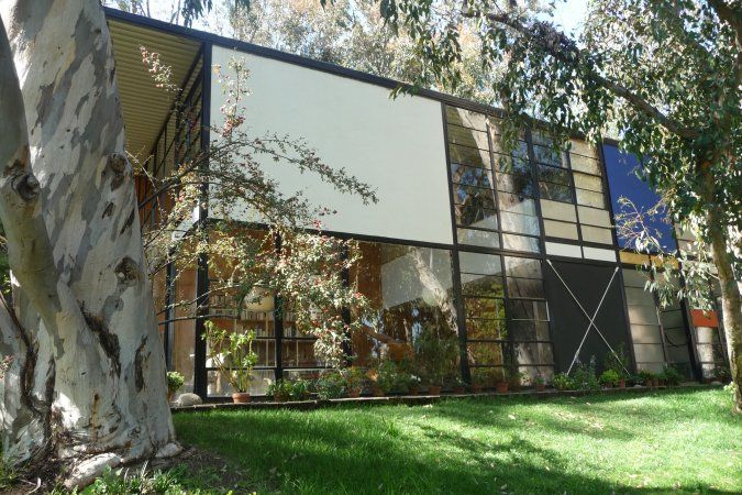 Eames House And Studio One Of The Most Famous Mid Century