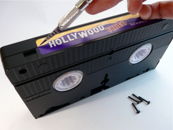 Crafting with VHS Tapes - CraftStylish