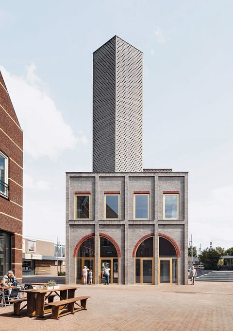 Nieuw-Bergen Landmark by Monadnock, the Netherlands