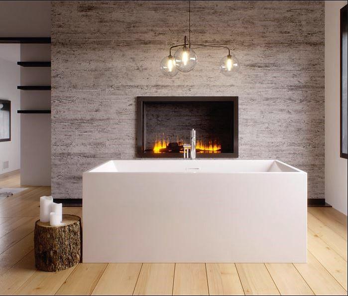 Acrylic one-piece freestanding tub from SLIK (MODE 59FSR31)