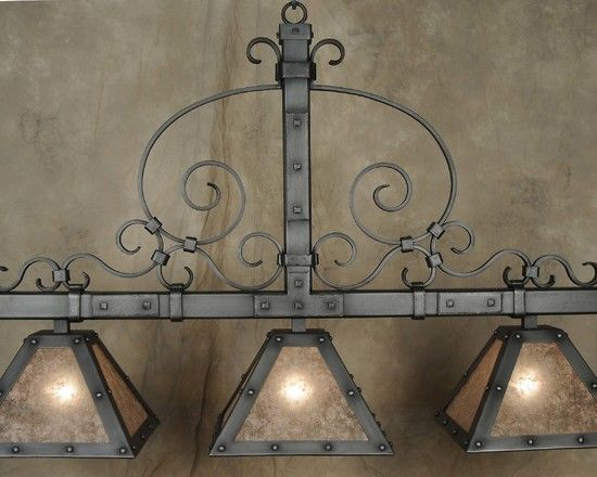 This Hand Forged Iron Chandelier Is An Ironton Forge Original Though Designed As Pool Table
