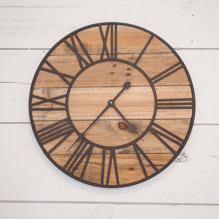 Rustic Wall Clock - Magnolia Market | Chip & Joanna Gaines
