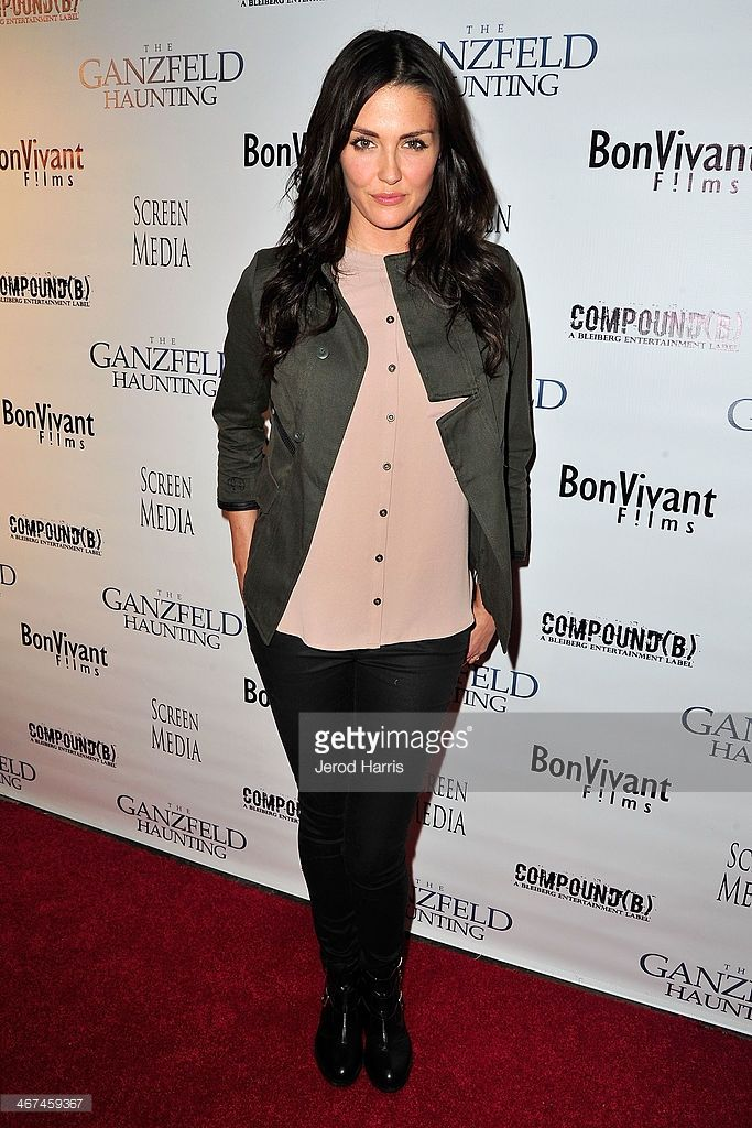 Actress Taylor Cole arrives at the Los Angeles Premiere of 'Ganzfeld Haunting' at Laemmle Beverly Hills on February 6, 2014 in Beverly Hills, California.