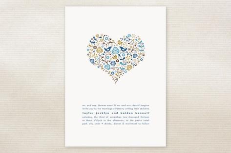 Heart Wedding Invitations!