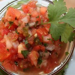 Wonderful flavor salsa - click for recipe!