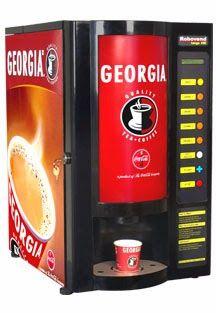 Georgia Tea Coffee Vending Machine Water Milk Boiler Offered By Rajat Enterprises