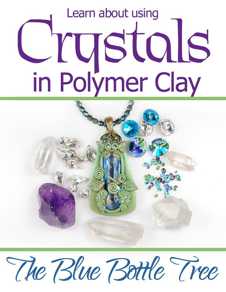 Can you bake crystals in clay? Certainly! Here's what you need to know.