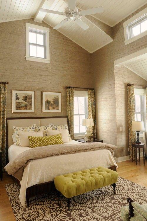 hohen decken bauernhaus schlafzimmer design architekt creme zimmer ideen architekten cream home ideas - Schlafzimmer Design Creme