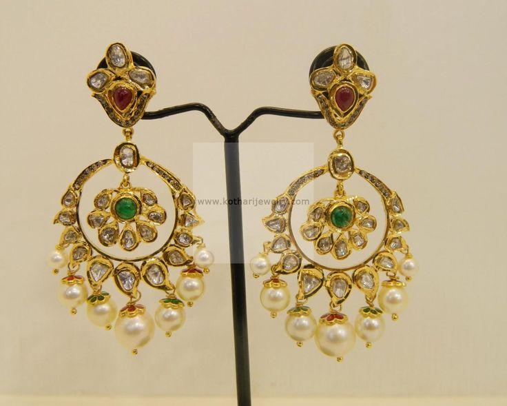 22kt gold earrings - Google Search