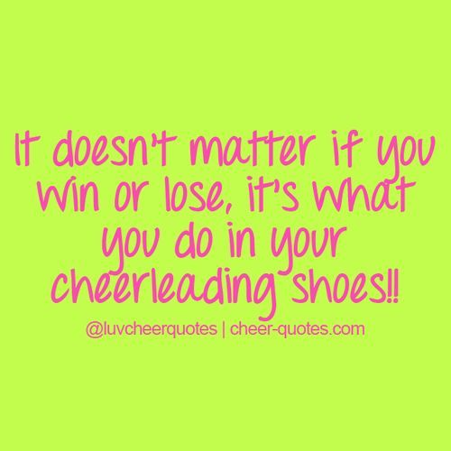 cheer quotes - - Yahoo Image Search Results