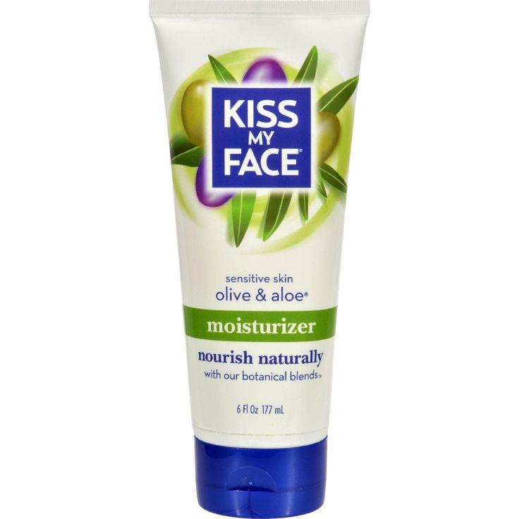 Kiss My Face Moisturizer - Olive And Aloe - 6 Oz