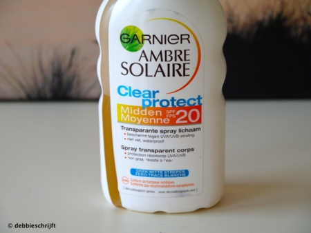 Ambre Solaire Clear Protect: my favorite sunscreen