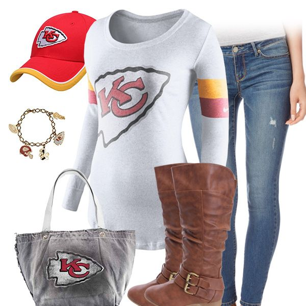 Cute Kansas City Chiefs Outfit