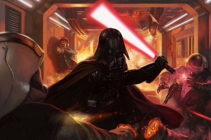 La escena final de Darth Vader fue agregada gracias a las regrabaciones de Rogue One