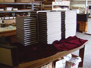 Centennial Book Binding :: General Binding :: Hard cover, soft cover, thesis binding, re-binding and book repair