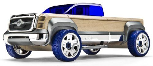 Automoblox T900 Truck, Blue Mix and Match, fully interchangeable with all other Automoblox Originals vehicles