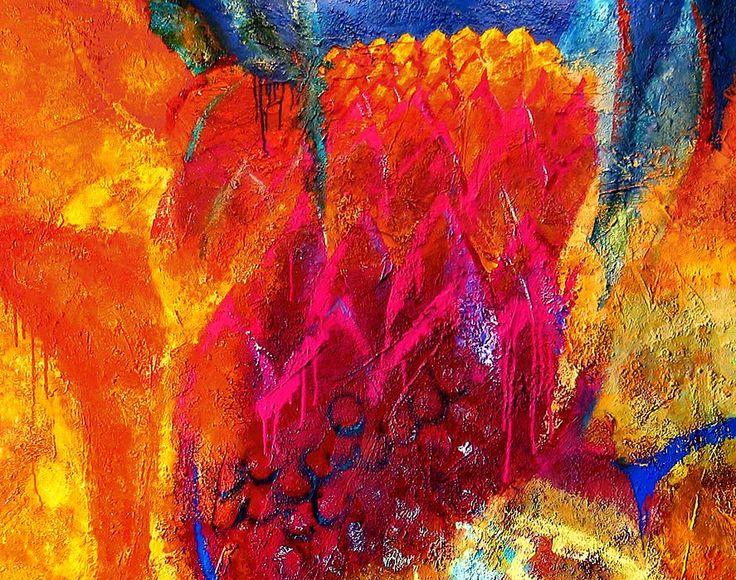 """CARTHAGE"", relief pastes, acrylic on canvas, 195x150 (fragment). ""КАРФАГЕН"", холст, рельефные пасты, акрил, 195х150 (фрагмент) more - http://lauren.ru/ru/pics/gallery/goroda/id_90.html?task=view"