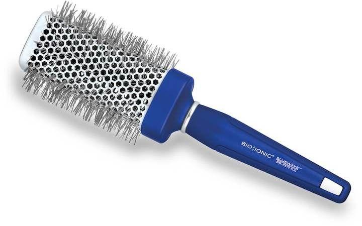 """Bio Ionic BlueWave NanoIonic Conditioning 2"""" Square Round Hair Brush"""