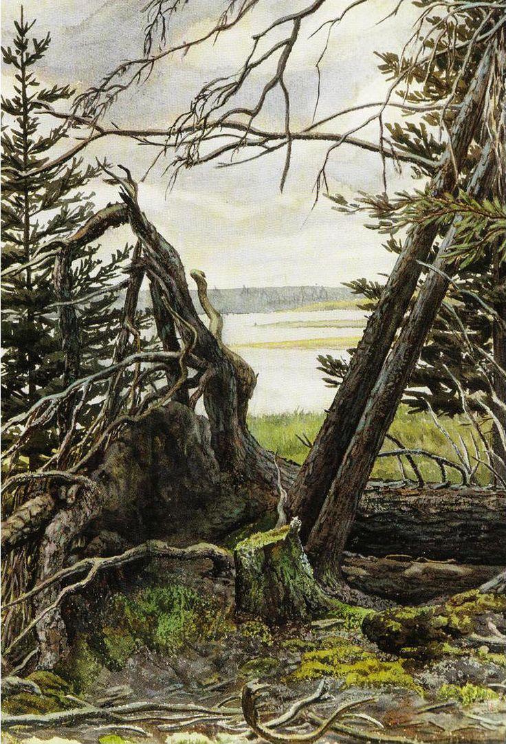 Ernest Lindner | Emma Lake | Memorial Art Gallery, Saskatoon
