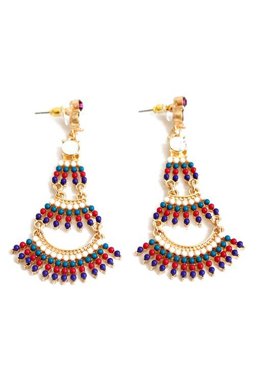Stylish Bohemia Multi-Layered Earrings