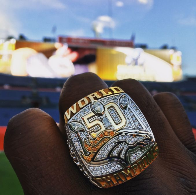 Proud partner of the Denver Broncos, crafting their 2016 Super Bowl Ring.