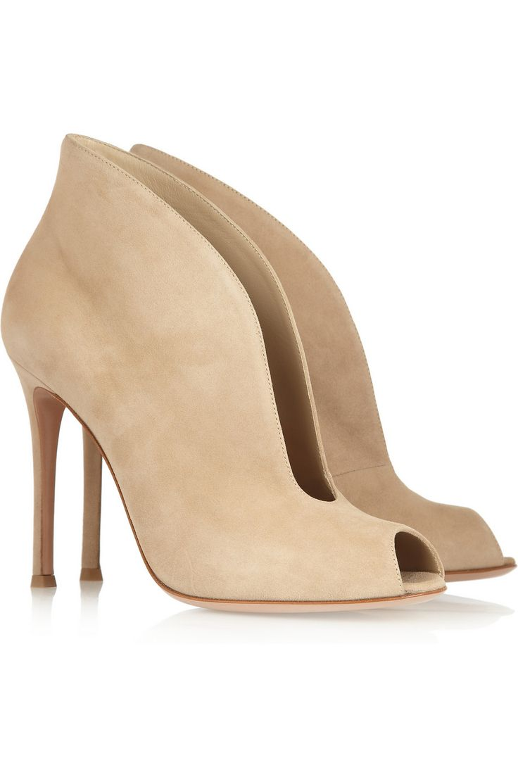 Gianvito Rossi|Camcord suede ankle boots|NET-A-PORTER.COM