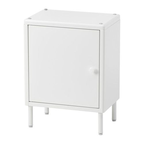 DYNAN Cabinet with door IKEA Adjustable feet make it possible to compensate for any irregularities in the floor. Perfect in a small bathroom.