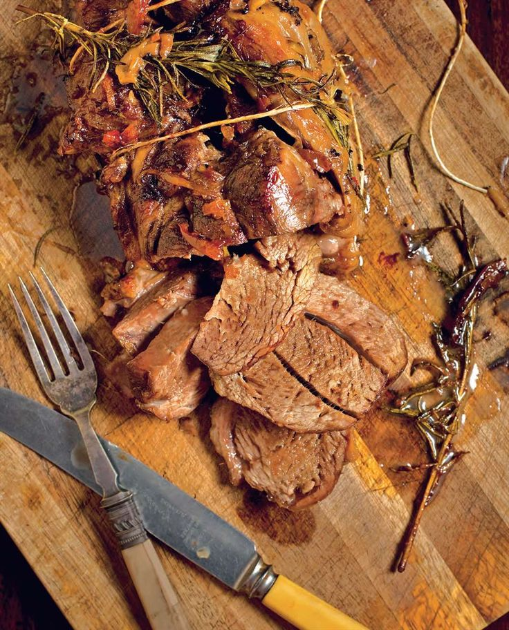 Slow-roast lamb shoulder with rosemary and preserved lemon by Billy Law from Have You Eaten? | Cooked
