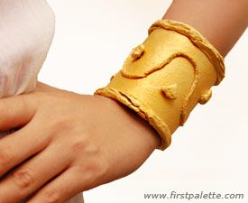 Ancient Egyptian Bracelet Craft | Kids' Crafts | FirstPalette.com