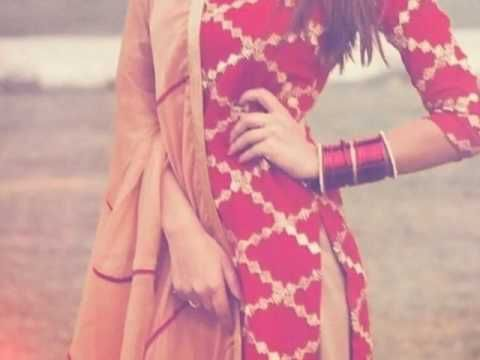 Punjabi salwar suit designs - YouTube