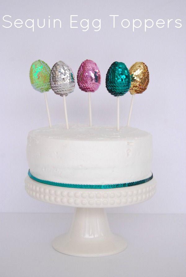 Unos preciosos adornos para una tarta Pascua / Lovely toppers for an Easter cake