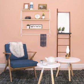 Rest fauteuil Leitmotiv blauw | Musthaves verzendt gratis