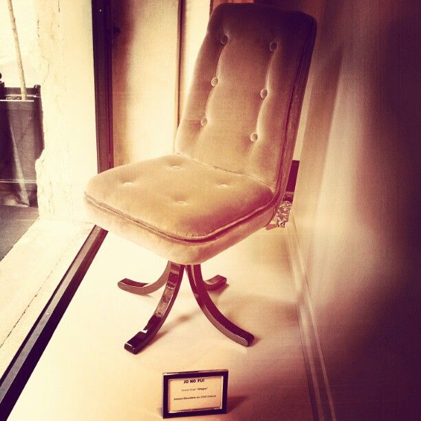 Porta Venezia in Design - dinner chair by Alessia Giacobino per JO NO FUI #mdw2012 #MilanDesignWeek