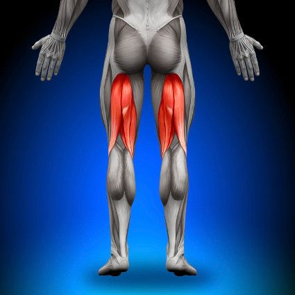 Pain deep in the buttocks is a sign of chronic injury to the tendons in the back of the thigh. Learn more about the distinctive signs of chronic hamstring tendinopathy.